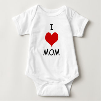 I Liebe-Mamma Babygrow Baby Strampler