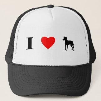 I Liebe-Manchester-Terrier Truckerkappe