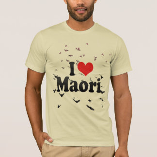 I Liebe Maori- T-Shirt