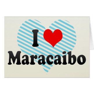 I Liebe Maracaibo, Venezuela Karte