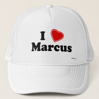 I Liebe Marcus Truckerkappe