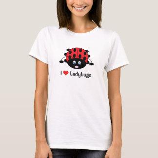 I Liebe-Marienkäfer-Shirt T-Shirt