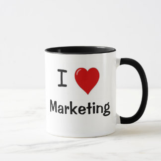 I Liebe-Marketings-Marketings-Lieben ich - Tasse