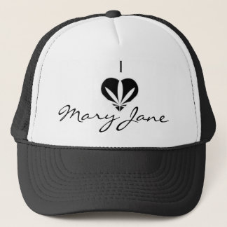 I Liebe Mary Jane Truckerkappe