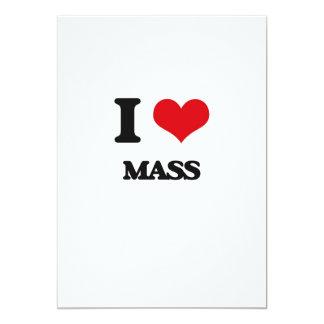 I Liebe-Masse 12,7 X 17,8 Cm Einladungskarte