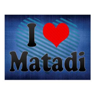 I Liebe Matadi, der Kongo Postkarte
