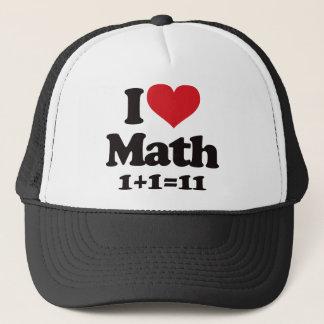 I Liebe-Mathe! Truckerkappe