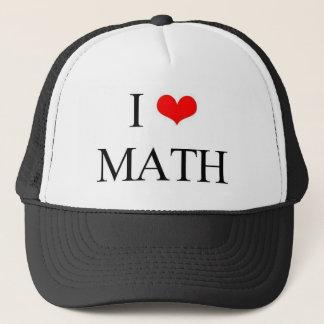 I Liebe-Mathe Truckerkappe