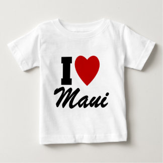 I Liebe Maui Baby T-shirt