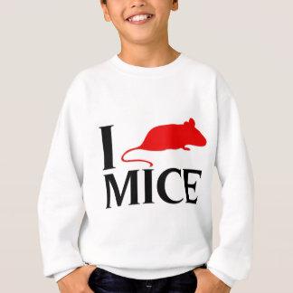 I Liebe-Mäuse Sweatshirt
