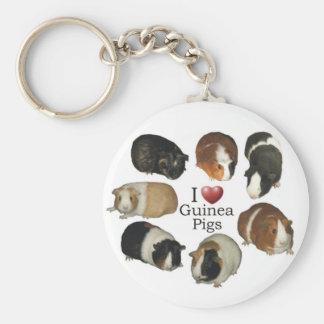 I Liebe-Meerschweinchen - Keychain Schlüsselbänder
