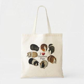 I Liebe-Meerschweinchen-Taschen-Tasche