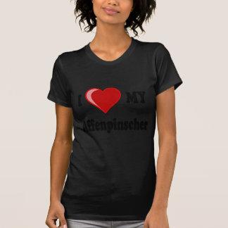 I Liebe mein Affenpinscher-Hund T-Shirt