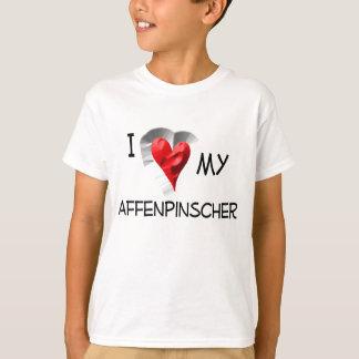 I Liebe mein Affenpinscher T-Shirt