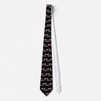I Liebe mein alaskischer Malamute Krawatte