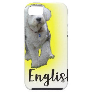I Liebe mein alter englischer Schäferhund iPhone 5 Hülle