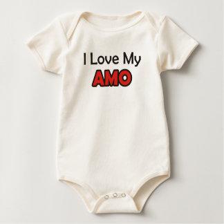 I Liebe mein Amo Baby Strampler
