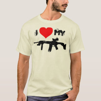I Liebe mein AR-15 T-Shirt