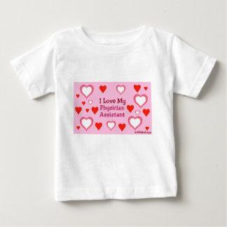 I Liebe mein Arzt-Assistent - Herzen Baby T-shirt