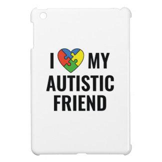 I Liebe mein autistischer Freund iPad Mini Hülle