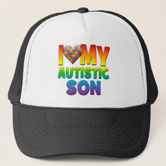 I Liebe mein autistisches Son.png Truckerkappe