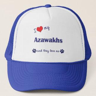 I Liebe mein Azawakhs (mehrfache Hunde) Truckerkappe