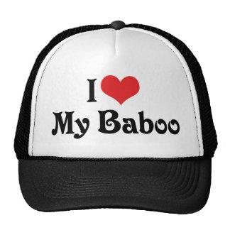 I Liebe mein Baboo Retrokultmützen