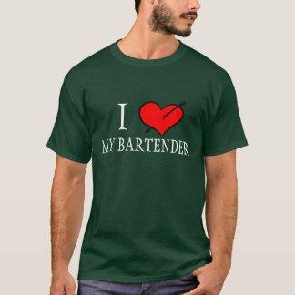 I Liebe mein Barkeeper T-Shirt