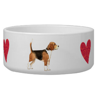 I Liebe mein Beagle Hundenapf