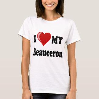 I Liebe mein Beauceron Hund T-Shirt