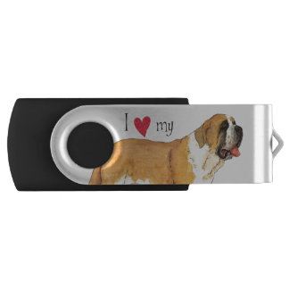 I Liebe mein Bernhardiner USB Stick