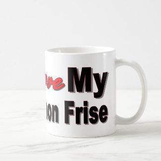 I Liebe mein Bichon Frise Kaffeetasse