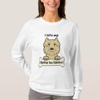 I Liebe mein Bouvier T-Shirt
