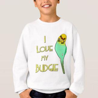 I Liebe mein Budgie Sweatshirt