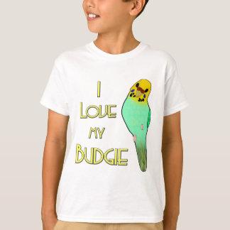 I Liebe mein Budgie T-Shirt