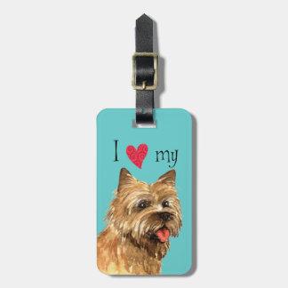I Liebe mein Cairn-Terrier Kofferanhänger