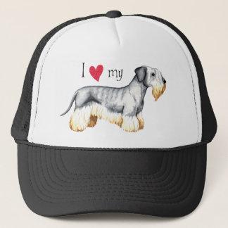 I Liebe mein Cesky Terrier Truckerkappe