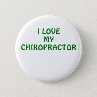 I Liebe mein Chiropraktor Runder Button 5,1 Cm