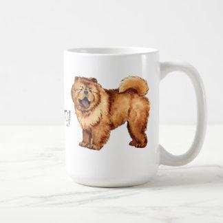 I Liebe mein Chow-Chow Kaffeetasse