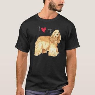 I Liebe mein Cockerspaniel T-Shirt