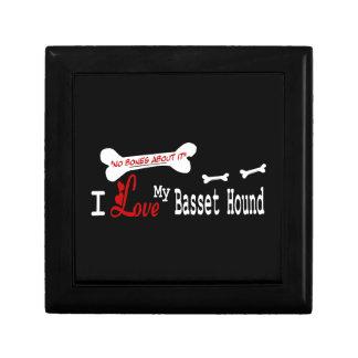 I Liebe mein Dachshund-Jagdhund Geschenkbox