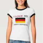 I Liebe mein deutscher Freund T-Shirt
