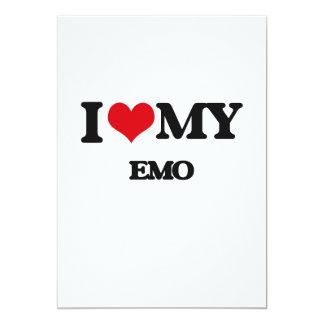 I Liebe mein EMO 12,7 X 17,8 Cm Einladungskarte