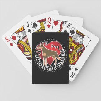I Liebe mein entzückender lustiger u. niedlicher Spielkarten