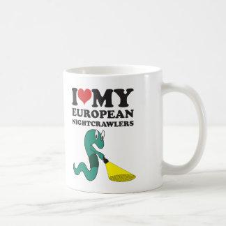 I Liebe mein europäisches Nightcrawlers Kaffeetasse
