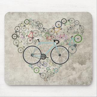 I Liebe mein Fahrrad Mousepad
