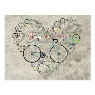I Liebe mein Fahrrad Postkarten