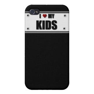 I LIEBE MEIN FALL DER KINDIPHONE iPhone 4 CASE