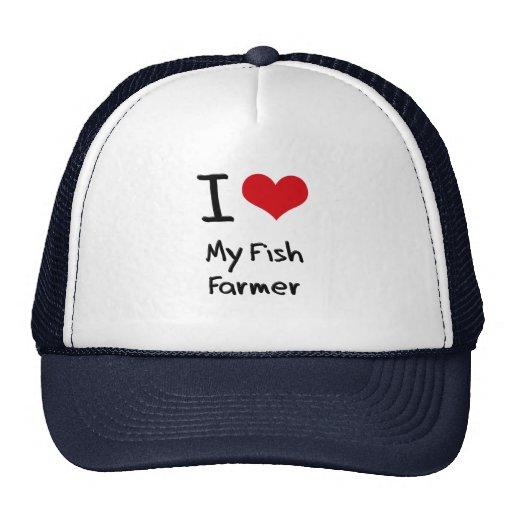 I Liebe mein Fisch-Bauer Kult Kappen