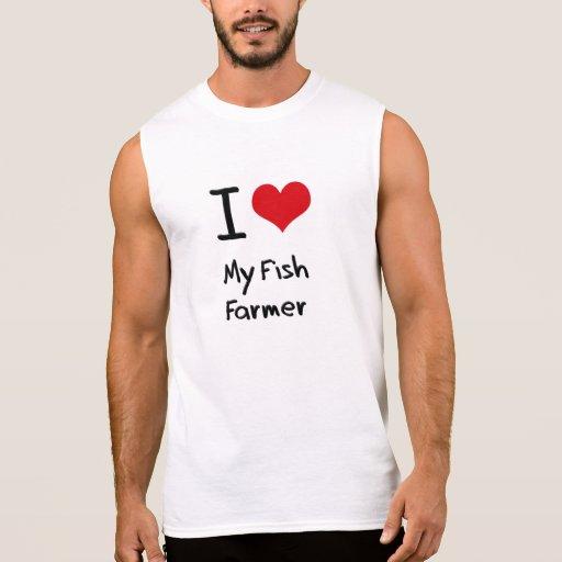 I Liebe mein Fisch-Bauer T-shirt